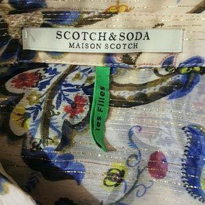 Scotch & Soda Tops - Scotch&Soda Maison Scotch women blouse size 2